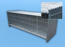 Bauzaun Standard 3.5 x 1.2 m